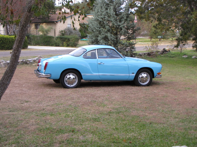 Olympic Blue 1973 Vw Karmann Ghia Uber Werks Vehicle